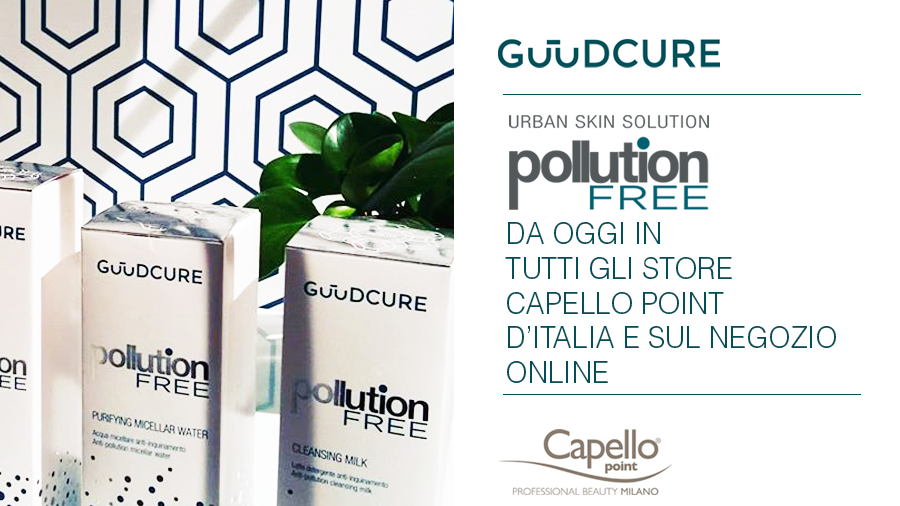 HSA Cosmetics linea GuudCure negli store Capello Point